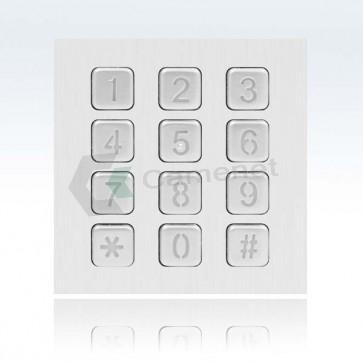 Modulo tastiera numerica per pulsantiera modulare videocitofono 2 fili