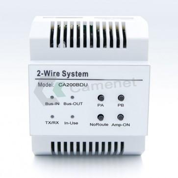 Modulo amplificatore videocitofono 2 fili