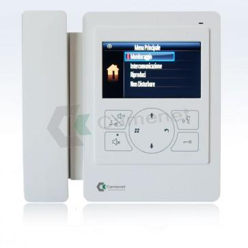 videocitofono 2 fili monitor 4 pollici
