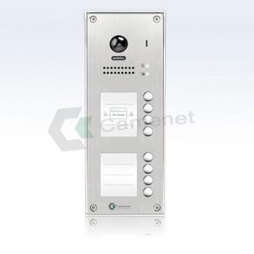 pulsantiera videocitofono per 8 appartamenti professionale 2 fili