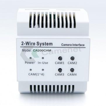 motulo telecamere per videocitofono 2 fili