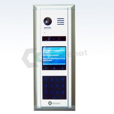 videocitofono 2 fil iprofessionale per condomini di media e grande dimensioni