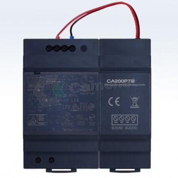 alimentatore videocitofono 2 fili professionale per grandi impianti