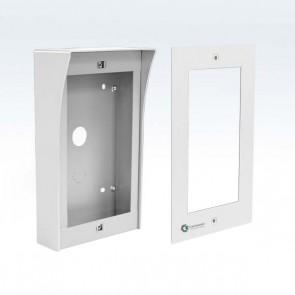 Contenitore 2x1 per pulsantiera moulare videocitofono