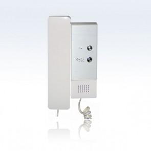 cornetta per impianto videocitofono 2 fili professionale