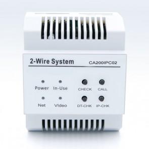 Modulo convertitore TC/IP videocitofono 2 fili